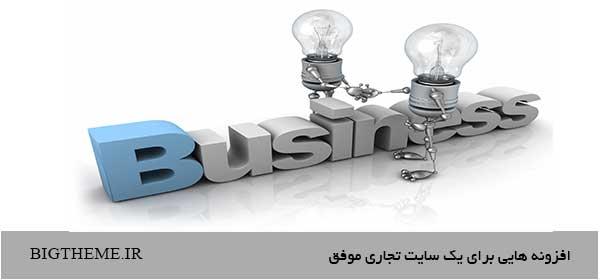 افزونه هایی برای یک سایت تجاری موفق
