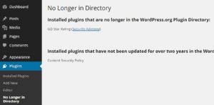 چگونه برگرداندن پلاگین های چاک شده در دایرکتوری WordPress.org