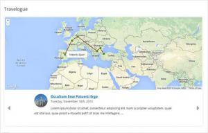 نحوه اضافه کردن نقشه سفر در وردپرس