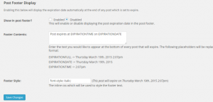 افزونه رایگان وردپرس حذف مطالبدر تاریخ و زمان معین