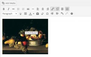 نحوه ایجاد عنوان برای تصاویر در وردپرس
