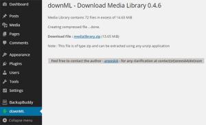 دانلود کردن تصاویر و فایل های کتابخانه رسانه ها وردپرس