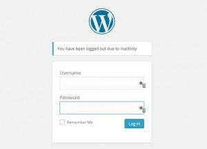 خروج کاربران بیکار به طور خودکار در وردپرس