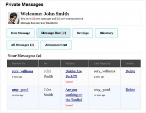 چگونه اضافه کردن یک سیستم پیام خصوصی در وردپرس