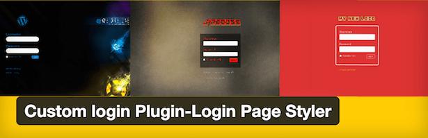 افزونه سفارشی سازی برگه هاLogin Page Styler