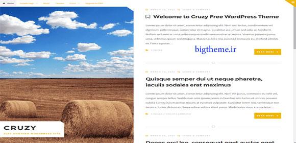 پوسته زیبای وبلاگی وردپرس