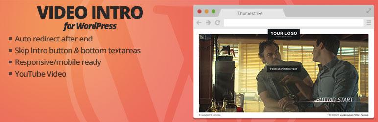 افزونه Video Intro for WordPress Lite