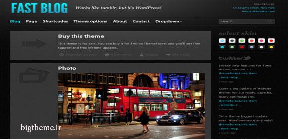 قالب وبلاگی وردپرس