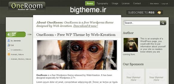 قالب وردپرس وبلاگی