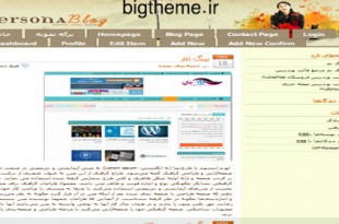 PersonaBlog-wordpress-theme