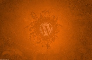 WordPress-orange-wallpaper