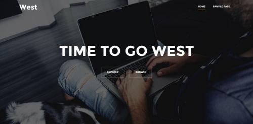 قالب وردپرس شرکتی West