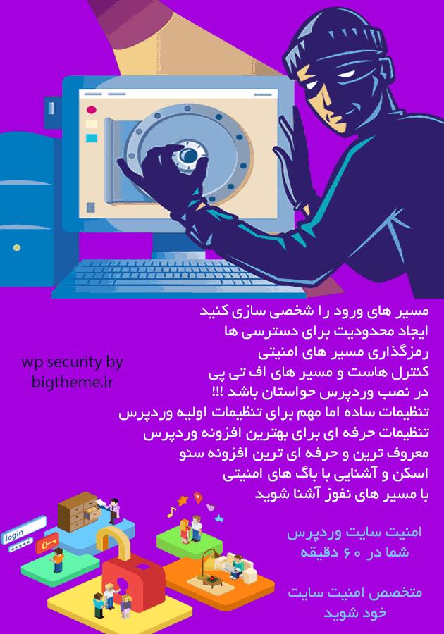 آموزش کانفیگ امنیت وردپرس