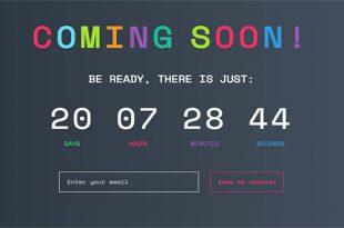 افزونه ای برای ساخت صفحه ی به زودی در وردپرس