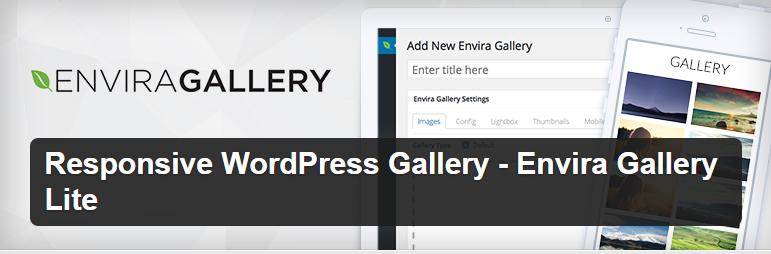 افزونه Envira Gallery Lite