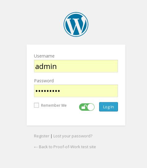 قفل امنیتی در سایت