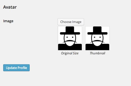 افزونه WP User Avatar