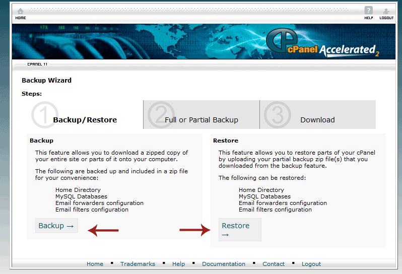 نحوه بک آپ گرفتن از سایت ( نسخه پشتیبان Backup )