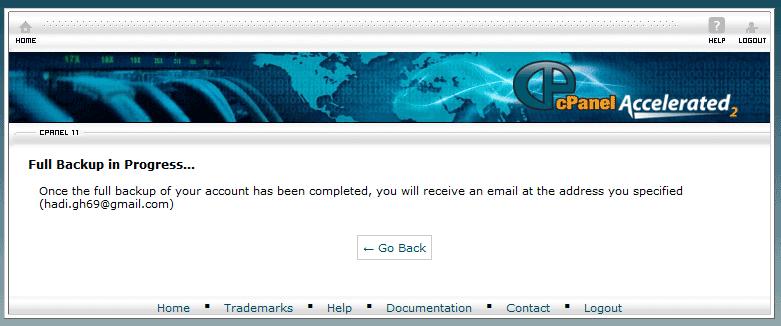 نسخه پشتیبان Backup