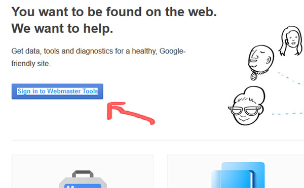 ثبت سایت در گوگل وبمستر