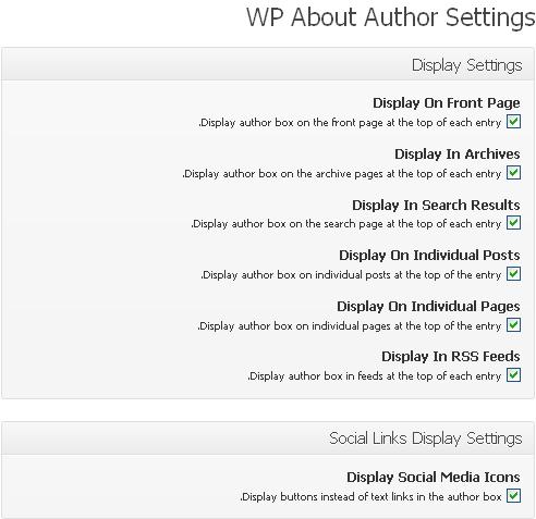 افزونه ی درباره ی نویسنده ( wp about author)