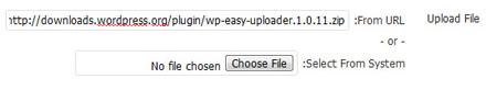افزونه آپلودر Wp Easy Uploader برای وردپرس