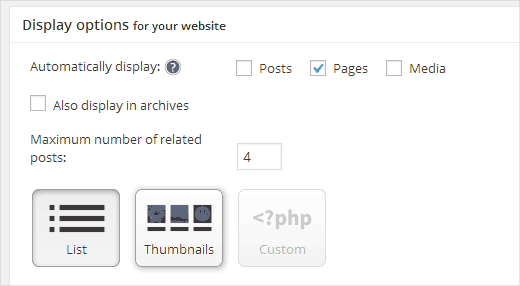 افزونه Yet Another Related Posts Plugin (YARPP)